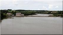 SN0403 : Carew tidal mill and causeway by Alan Walker