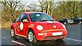 J2385 : Volkswagen Beetle, Templepatrick (February 2018) by Albert Bridge