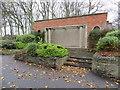 TA0389 : Peasholm Park shelter, Peasholm Drive, Scarborough by John S Turner