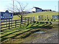 NY9262 : Entrance to Hexham Racecourse by Oliver Dixon