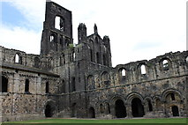 SE2536 : Ruins of Kirkstall Abbey from the northwest by Schlosser67