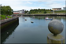 NZ4057 : Fish Quay on the River Wear, Sunderland by Mat Fascione