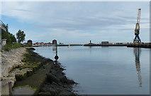 NZ4057 : River Wear in Sunderland by Mat Fascione
