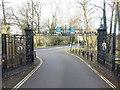 TQ1088 : Entrance gates to  Eastcote House Gardens by Marathon