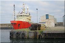 NK0067 : 'Grampian Orcades' at Balaclava Pier by Anne Burgess