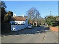SK6027 : Wysall: Main Street by John Sutton