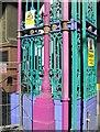 TQ3181 : Detail of Entrance to Smithfield Market by Martin Kerans