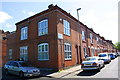 SK5904 : Houses at the junction of Gopsall Street and Oxendon Street by Roger Templeman