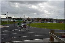 SX4160 : Roundabout, A38 by N Chadwick