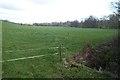 SO3358 : farmland on the Arrow valley by Philip Halling