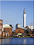 SP0686 : Birmingham and Fazeley Canal  in Birmingham by Roger  Kidd