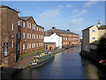 SP0686 : Birmingham and Fazeley Canal near the ICC by Roger  Kidd