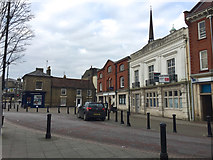 TM0458 : Market Place, Stowmarket, looking north by Robin Stott