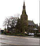 SJ3350 : St Mary's Cathedral, Wrexham by Jaggery