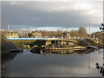 SE3231 : Construction works at Knowsthorpe locks by Stephen Craven