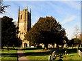 SU0969 : St James' Church in Avebury by Steve Daniels