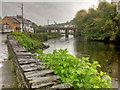 G9278 : Bridge over River Eske in Donegal Town by David Dixon