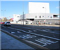 ST3188 : Kingsway bus lane and speed bumps, Newport by Jaggery