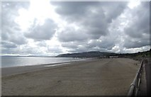 SH8479 : The beach at Colwyn Bay by Eirian Evans