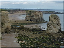 NZ4064 : Marsden Bay at South Shields by Mat Fascione
