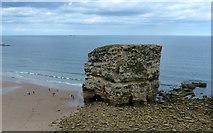 NZ4064 : Marsden Rock at Marsden Bay, South Shields by Mat Fascione