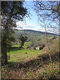 SX7582 : Bovey valley at Foxworthy by David Smith