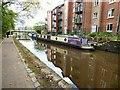 SJ9398 : Crafty-Narrowboat on the Ashton Canal by Gerald England