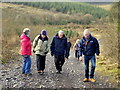 H4940 : First Omagh Church Walking Group, Mullaghfad by Kenneth  Allen