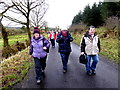 H5041 : First Omagh Church Walking Group, Mullaghfad by Kenneth  Allen