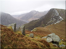 SH6261 : Above Bwlch y Brecan by Chris Andrews