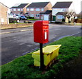 ST4387 : Queen Elizabeth II postbox, Quarry Rise, Undy by Jaggery