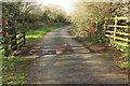 SX0970 : Cattle grid, Racecourse Downs by Derek Harper