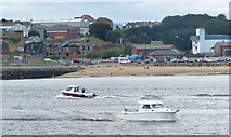 NZ3668 : Boats on the River Tyne by Mat Fascione