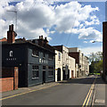 SP3165 : South on Bedford Street, Royal Leamington Spa by Robin Stott