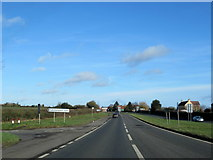 SO8466 : A449 at Dark Lane Turning For Sytchampton by Roy Hughes
