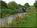 SO8957 : Offerton Locks west of Tibberton in Worcestershire by Roger  Kidd