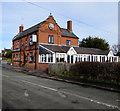 SJ3061 : M is for Millstone, Hawarden Road, Penyffordd, Flintshire by Jaggery