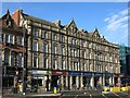 NZ2464 : The former Grand Hotel, Percy Street, NE1 by Mike Quinn