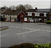 ST3091 : Rooftop solar panels, Rowan Way, Malpas, Newport by Jaggery