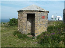 SX9456 : 1802 sentry box - Berry Head by Chris Allen