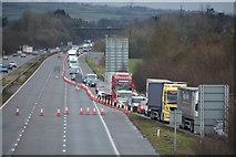 ST0207 : Cullompton : M5 Motorway by Lewis Clarke