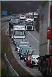 ST0207 : Cullompton : M5 Motorway Junction 28 by Lewis Clarke
