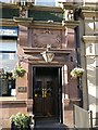 NZ2464 : The Crow's Nest, Percy Street, NE1 - entrance by Mike Quinn