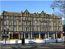 NZ2464 : The former Grand Hotel, Percy Street, NE1 (2) by Mike Quinn