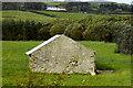 C4454 : Stone Barn beside the R242 near Umgall by David Dixon
