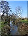 TL4751 : Stapleford: the River Granta by John Sutton