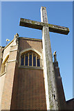 SU9850 : The Ganges Cross, Guildford Cathedral by Stephen McKay