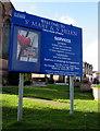 SJ2977 : Welcome to St Mary & St Helen Parish Church of Neston by Jaggery