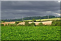SO8581 : Worcestershire farmland north-east of Caunsall by Roger  Kidd