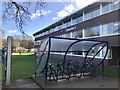 SJ8145 : Bike rack outside Chancellor's Building by Jonathan Hutchins